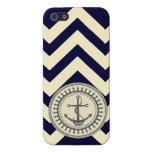 De StellaRoot del ancla marina de guerra y gris de iPhone 5 Carcasa