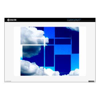 "De Stijl Sky Skins For 15"" Laptops"