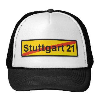 De Stuttgart 21 Gorros Bordados