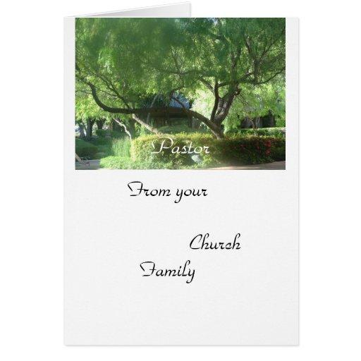 De su familia de la iglesia felicitaciones