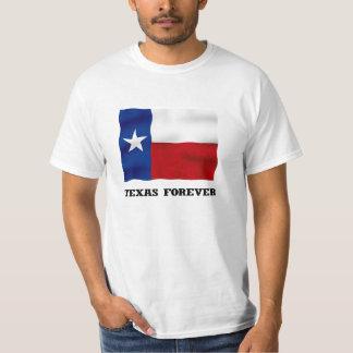 De TEJAS camiseta del valor PARA SIEMPRE - Playeras