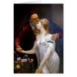 ~ de Ticiano y Lavinia (par cariñoso) Tarjeta De Felicitación
