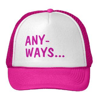 De todas formas gorras de camionero