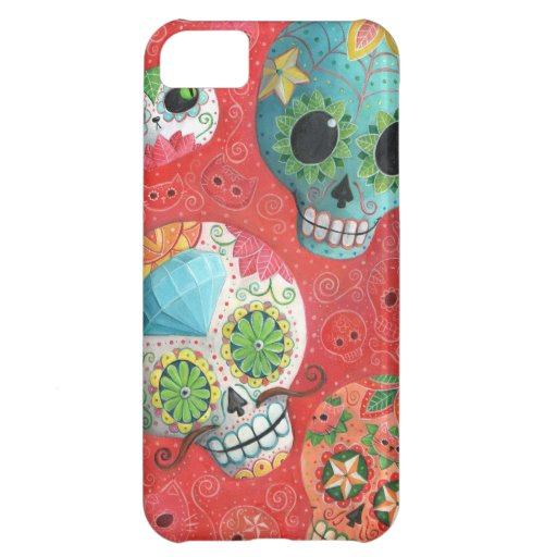 De tres días de los cráneos muertos funda para iPhone 5C