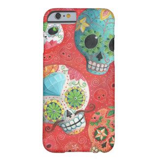 De tres días de los cráneos muertos funda para iPhone 6 barely there