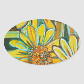 De Tuin, Sunflower Art Products Sticker