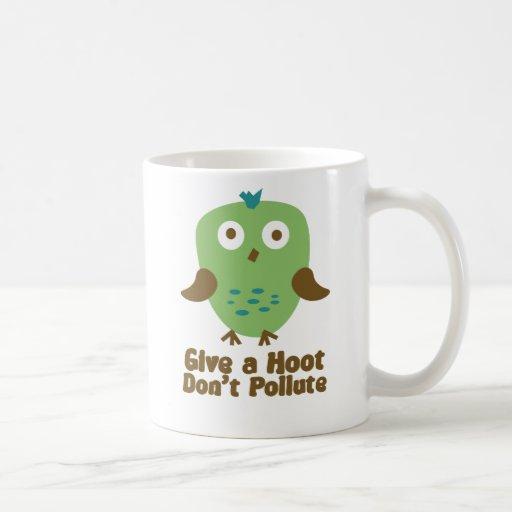 Dé un pitido no contaminan tazas de café