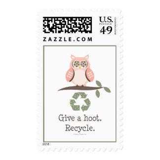 Dé un pitido reciclan sellos