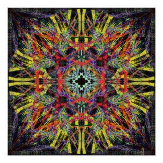 De una cierta serie de la simetría. perfect poster