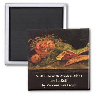 De Van Gogh de las manzanas de carne del rollo tod Imanes De Nevera