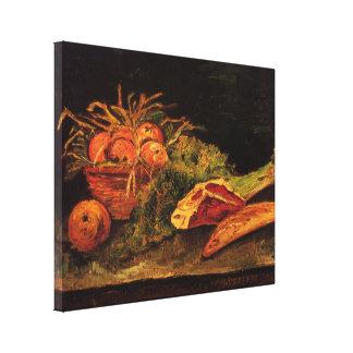 De Van Gogh de las manzanas de carne del rollo tod Impresión En Lienzo Estirada