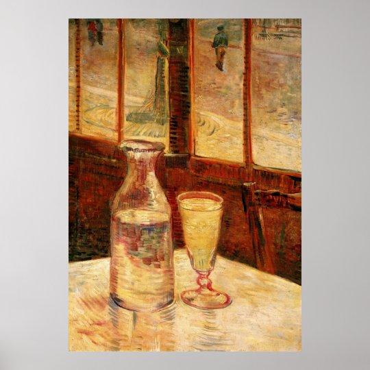 De Van Gogh del ajenjo del vintage todavía del Póster