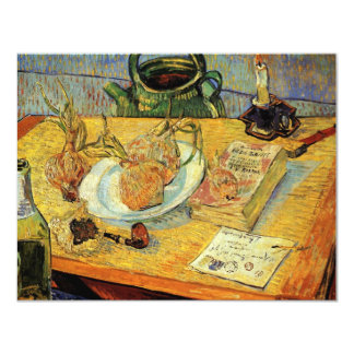 """De Van Gogh del vintage del poste todavía del Invitación 4.25"""" X 5.5"""""""