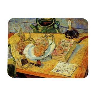 De Van Gogh del vintage del poste todavía del Rectangle Magnet