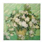 De Van Gogh todavía de los regalos vida con impres Tejas