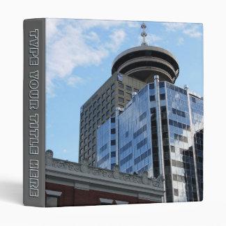 De Vancouver carpeta de encargo del libro de Vanco