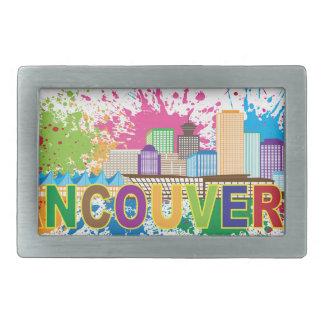 De Vancouver ejemplo de la salpicadura de la Hebillas Cinturón Rectangulares