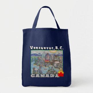 De Vancouver la bolsa de asas A.C. Canadá