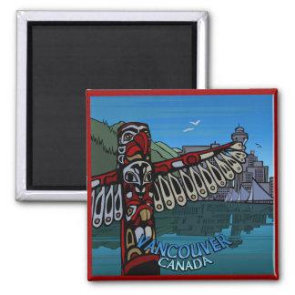 De Vancouver regalos de Vancouver de los imanes Imán Cuadrado
