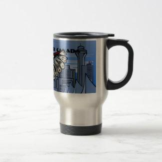 De Vancouver tazas y vidrios de las tazas de café