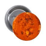 ~ de VENUS del PLANETA (Sistema Solar) Pin Redondo De 2 Pulgadas