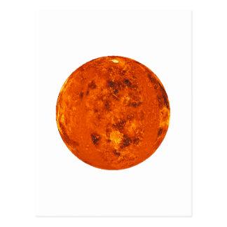 ~ de VENUS del PLANETA (Sistema Solar) Postal