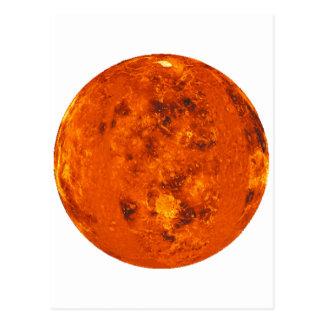 ~ de VENUS del PLANETA (Sistema Solar) Tarjeta Postal