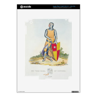 De Vere, Earl of Oxford, 1280, from 'Ancient Armou iPad 3 Skin