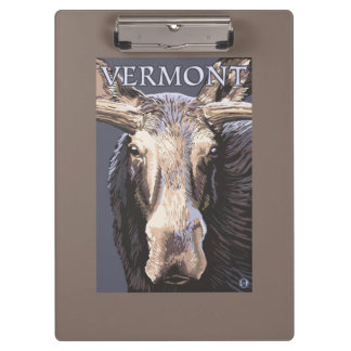 De VermontMoose cierre para arriba