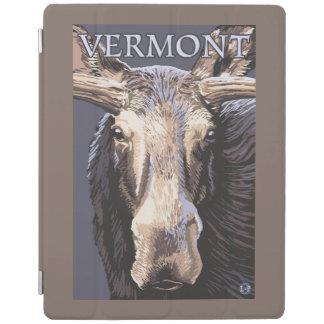De VermontMoose cierre para arriba Cubierta De iPad
