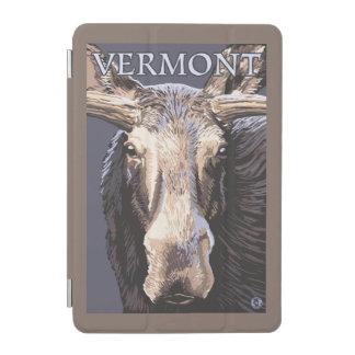 De VermontMoose cierre para arriba Cover De iPad Mini