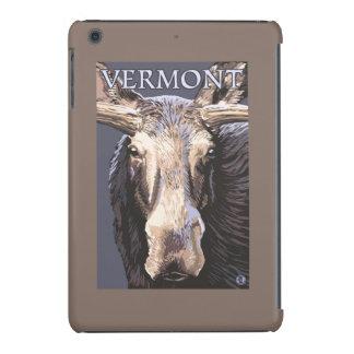 De VermontMoose cierre para arriba Fundas De iPad Mini