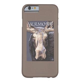 De VermontMoose cierre para arriba Funda De iPhone 6 Barely There