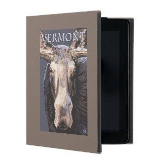 De VermontMoose cierre para arriba iPad Carcasa