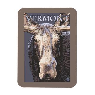 De VermontMoose cierre para arriba Imán Flexible