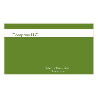 de visita de las tarjetas de /organic de los produ tarjeta de visita