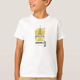 "De ""vitage de la torre Eiffel Eiffel del viaje del Playera"