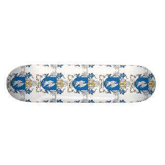 de Vogel Family Crest Skateboards
