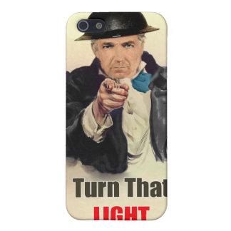Dé vuelta a esa luz del poster WW2 iPhone 5 Fundas