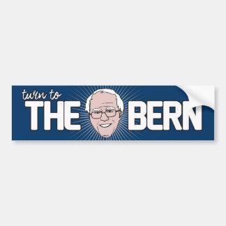 Dé vuelta a la Berna -- Chorreadoras de Bernie - Pegatina Para Auto