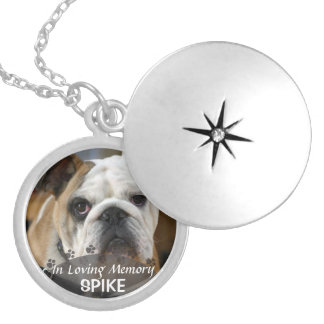 dé vuelta a la imagen del perro en joyeria personalizada