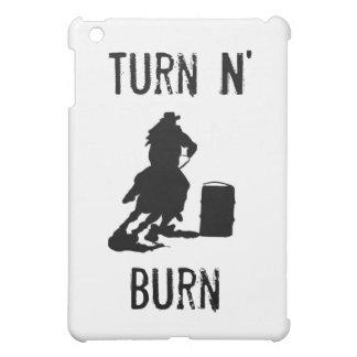 Dé vuelta a la quemadura de N
