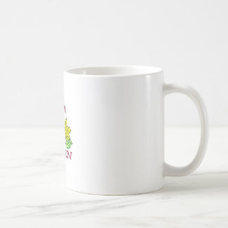 Dé vuelta a las hojas taza de café