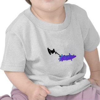 De Wakeboard bombardero tan Camiseta