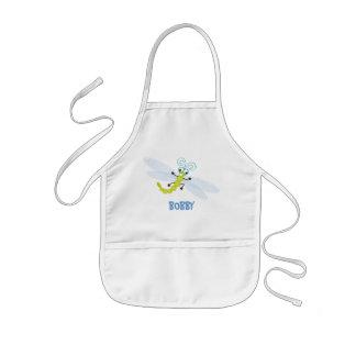 _De Wing-Nutz™_Dragonfly (Skeeter) personalizado Delantal Infantil