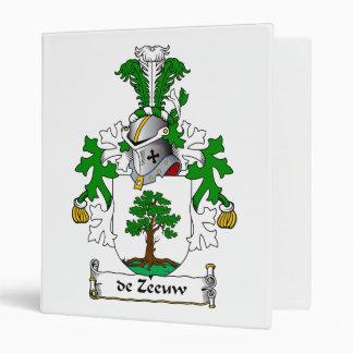 de Zeeuw Family Crest Vinyl Binders