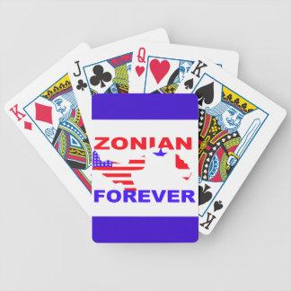 De Zonian naipes para siempre Cartas De Juego