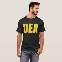 dea agent t shirts shirt designs zazzle