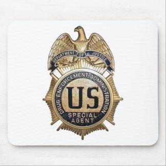 DEA Badge Mouse Pad
