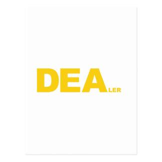 DEA... LER POSTCARD
